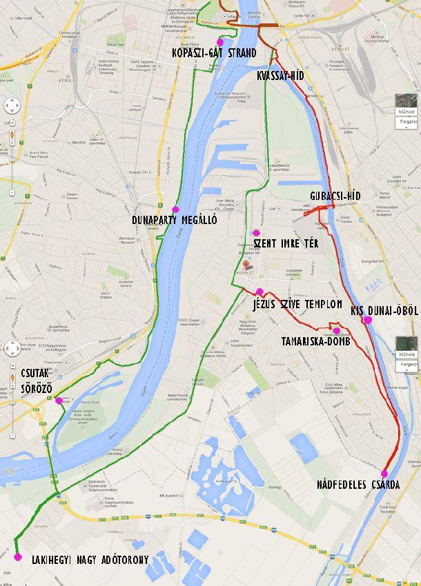 csepel térkép Két remek óriáskör Csepel megismerésére (1 2. rész) – Indulj el  csepel térkép