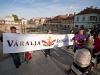 A Duna Bástya védelméért demonstráltak Győrben