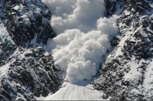 Lavina a Mount Everesten (Forrás: internet)