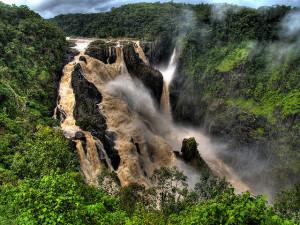 A Barron-vízesés esős időszakban. (Fotó: internet)