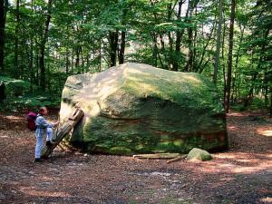 Az alsó-szászországi Stöckse vándorköve, a Giebichenstein (Forrás: internet)