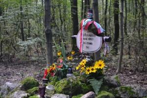 Ismeretlen magyar honvéd sírja a Homok-hegy közelében (Fotó: Harsáczki György)