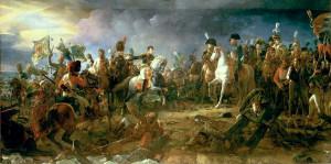 Napoleon huszárokkal - festmény