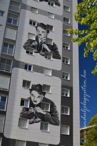 A híres villa-tánc képkockái az Aranyláz című Chaplin-filmből (Fotó: Harsáczki György)