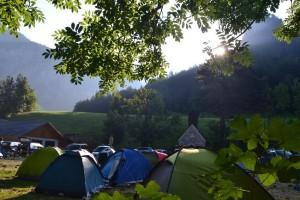 Kaiserbrunni reggel a Turmsteinnel