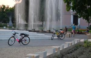 Az Országzászlónál, a Szent Imre tér sarkán