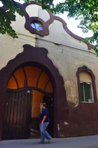A szecessziós Szlávnity-ház kapuja