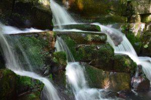A Dömörkapu-vízesés részlete