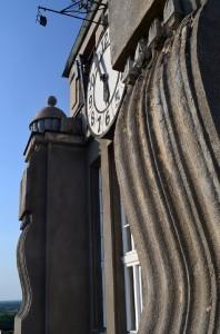 A Városháza tornyórája a kilátóteraszról