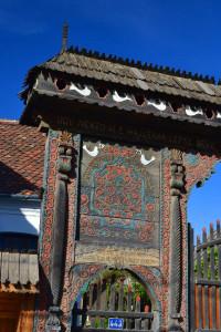 A Sütő-porta kapujának részlete