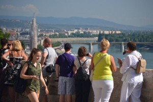 A Budai vár a főváros egyike a turisták által legkedveltebb helyszíneinek (Fotó: Harsi)