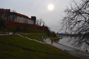A Wawel dombját egykor nagy mértékben a Visztulára bízták