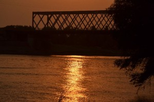 Búcsú a zentai Tisza-parttól...