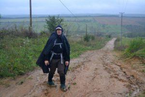 Attila - mögötte a völgy, amit a sártengerben leküzdöttünk...