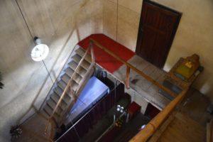 Lépcsők a harangtoronyba
