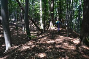 Meg is másztuk a 12 méter magas sáncot