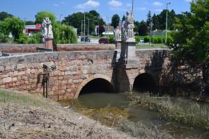 A Gombás-patak barokk stílusú hídja
