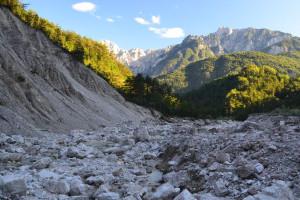 Láthattuk azt is, hogy a jelenleg a kövek között bóklászó Alba nemrég elsodorta a több száz éve lerakott hordalékdombjait...