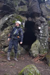 Vidróczki szűkösen lehetett ebben a barlangban...