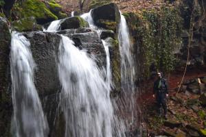 Az Alsó-vízesést nem könnyű megközelíteni