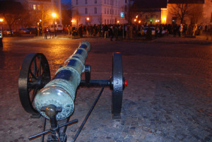 A felvétel a 2011-es Kitörés túra rajtjában készült (Fotó: Harsáczki György)