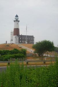 A Montauk-világítótorony a sziget északi csücskén
