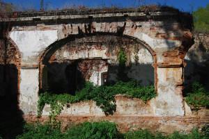 Serke kastélyának részlete 2009-ben. Az önkormányzat több éve pályázik a helyreállítás költségeire. 2013-ban megkapták a szükséges összeg egyötödét...