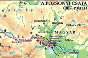 A pozsonyi csata hadműveletei