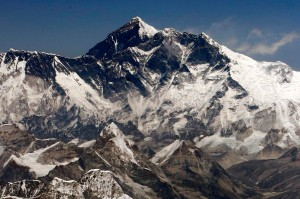 """A """"Világ teteje"""", a Mount Everest (Forrás: internet)"""