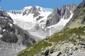 Alpesi legelők, csipkés hegygerincek