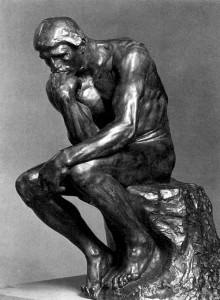 Auguste Rodin: A gondolkodó (1879-1889)
