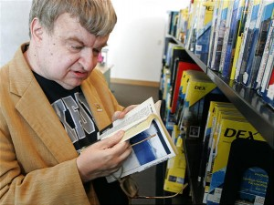 A telefonkönyvek a kedvenc olvasmányai