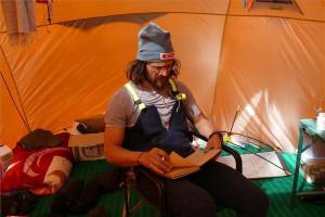 Klein Dávid az egyik táborban - MTI Fotó: Török Éva