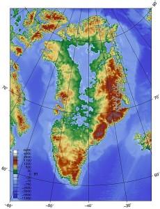 Grönland felszíne az folytatódó olvadás, és az azzal járó tengerszint-emelkedés mellett