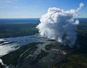 """A """"robajló füst"""" a levegőből (Fotó: internet)"""